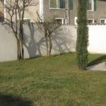 Aménagement extérieur avec pavés autobloquants