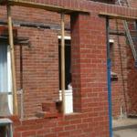 Création d'une extension en briques rouges – ARRAS