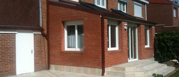 Création d'une extension en briques rouges – ARRAS (62)