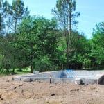 Construction d'une piscine maçonnée – CAPBRETON
