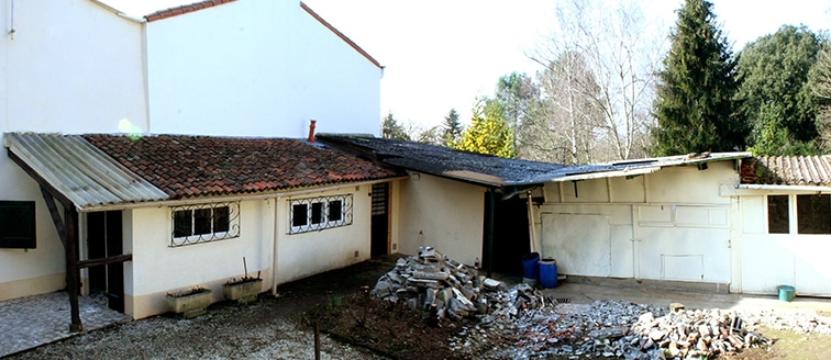 Reconstruction d'une extension </br> à Nantes (44)