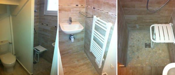 Aménagement d'un placard en salle de bains – VERSAILLES (78)
