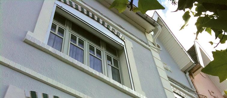 Ravalement de façade de maison de ville – Arras (62)
