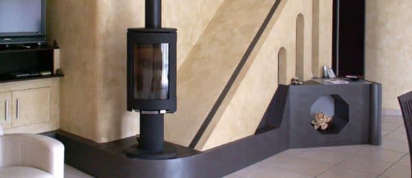 Installation d'un poêle à bois – LYON (69)
