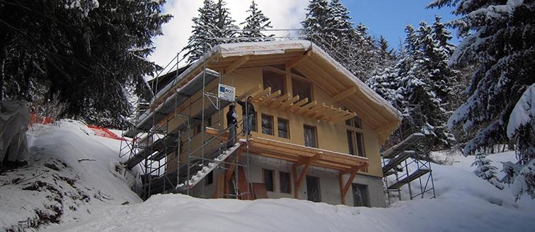 Construction d'un chalet – Annecy (74)