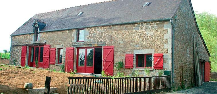 Changement des menuiseries d'une grange – Rennes (35)