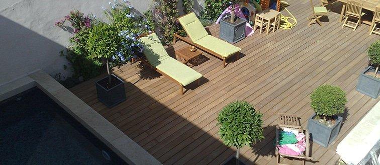Aménagement extérieur d'une maison de ville – Marseille (13)