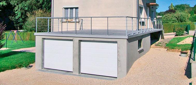 Agrandir avec un garage – MONTBÉLIARD (25)