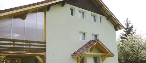 Ravalement d'une maison de montagne – Annecy (74)