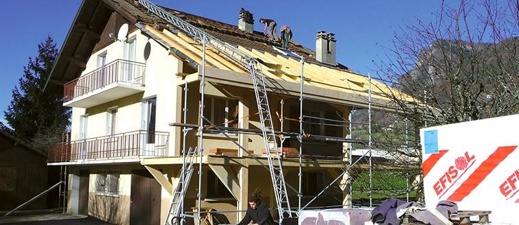 Création d\'une terrasse abritée – ANNECY (74) - IlliCO travaux