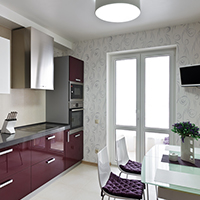 d corer ses meubles de cuisine la peinture. Black Bedroom Furniture Sets. Home Design Ideas