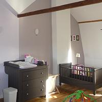 Chambre d'enfants réaménagée