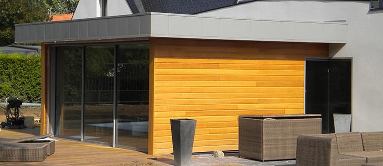 Extension en bois d'une maison – DOUAI (59)