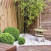 Aménagement d'un jardin oriental