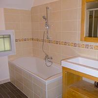 Rénovation de salles de bains d'une maison