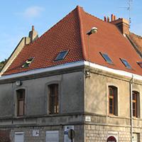 Rénovation de toiture et charpente d'une maison de ville