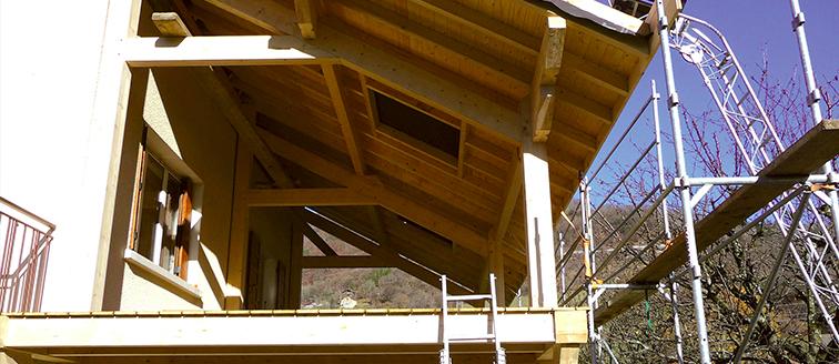 Vissés Construction D Une Terrasse En Bois Traité Patio En Bois
