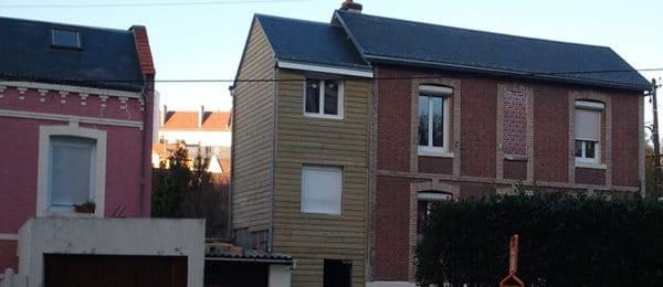 Construction d'une extension en bois – Le Havre (76)