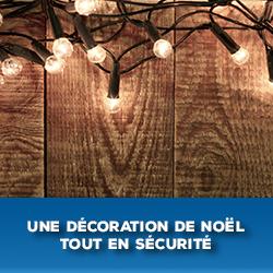 decoration de noel tout en securite