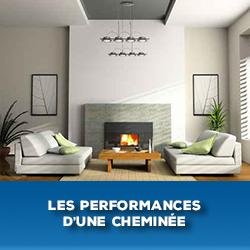 performance d'une cheminée