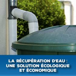 COP21 : récupération d'eau