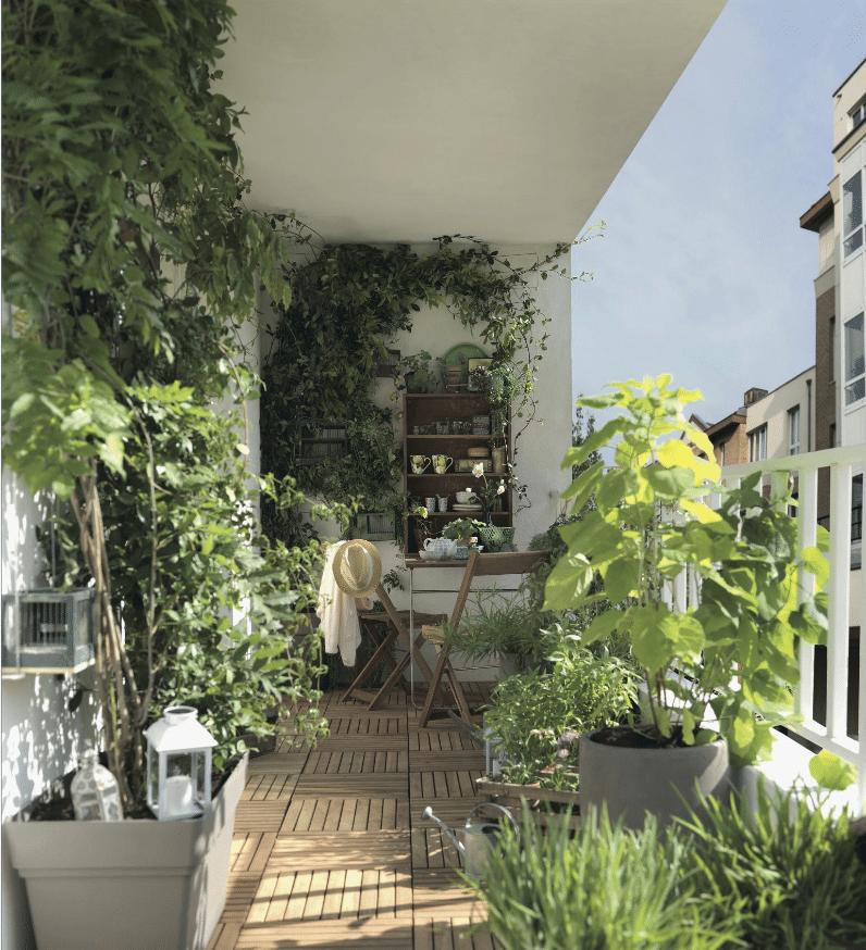 Faire de son balcon un endroit paisible