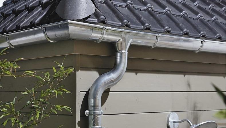 Évacuer l'eau de pluie de son jardin