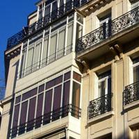 fenêtres au balcon