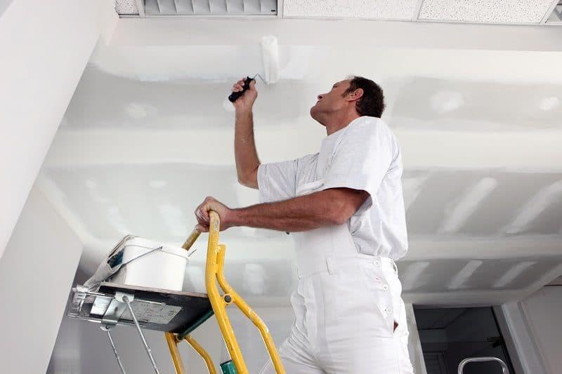 réparer un plafond abîmé