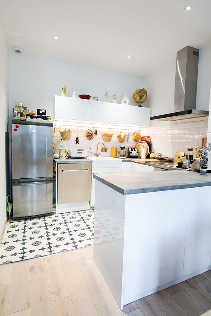 Ilot central de cuisine à Montpellier (34)
