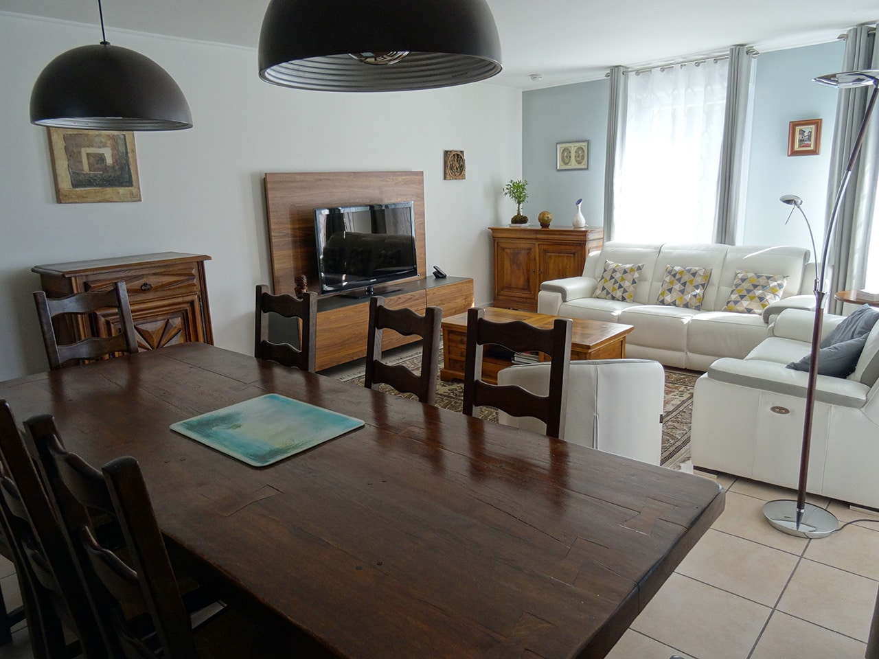 Travaux De Rnovation Appartement. Photo Salon Cuisine Apres Travaux ...