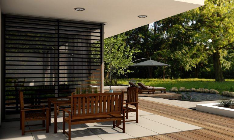 Construire une terrasse en dalles soi-même