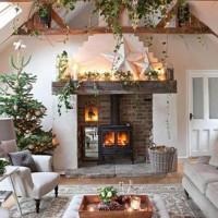 salon ambiance Noël