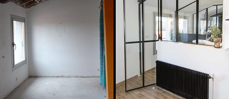 Rénovation d'une villa à Montpellier