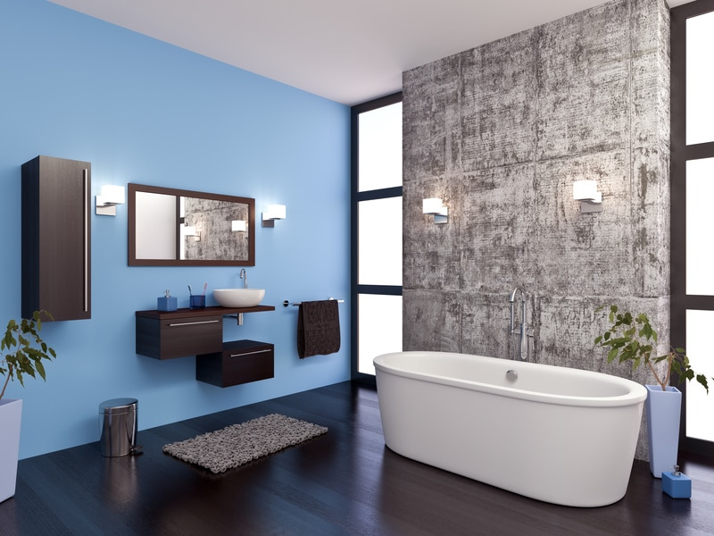 Les artisans d'une rénovation de salle de bains sur mesure
