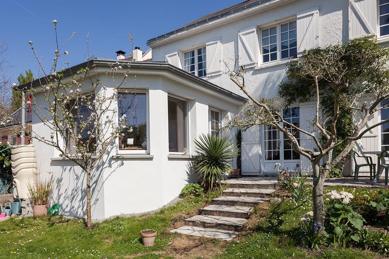 Extension de maison à Orvault (44) - Vue 360° - Agence illiCO travaux Nantes