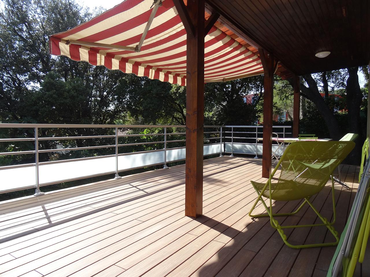 Rénovation et agrandissement d'une terrasse – Montpellier (34)