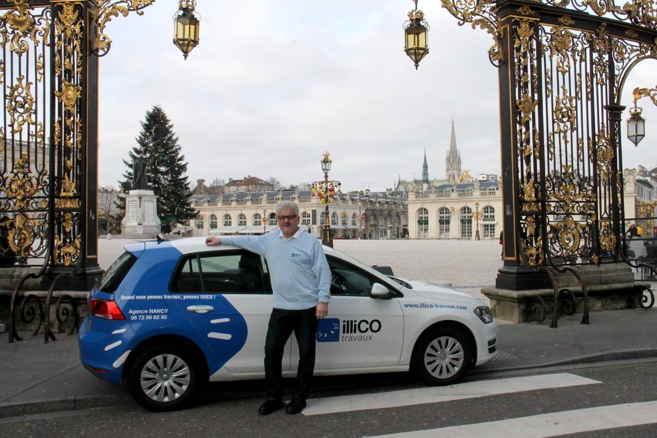 Alexandre Papoudof de l'agence illiCO travaux Nancy