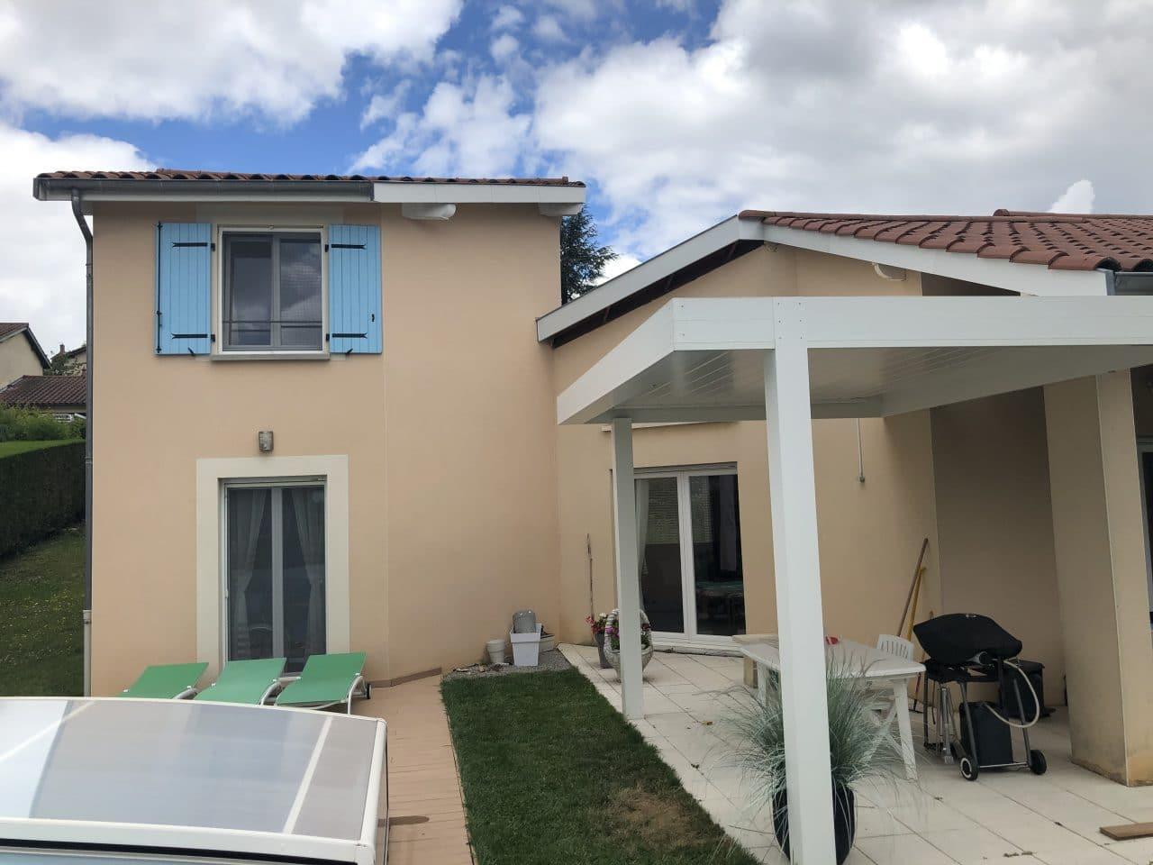 extension de maison à Ecully