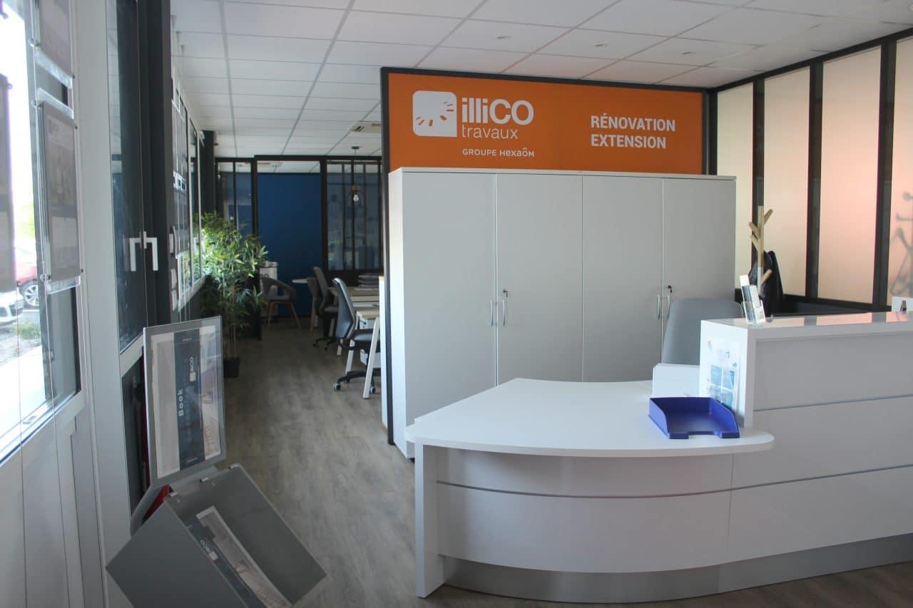 agence illiCO travaux Niort accueil