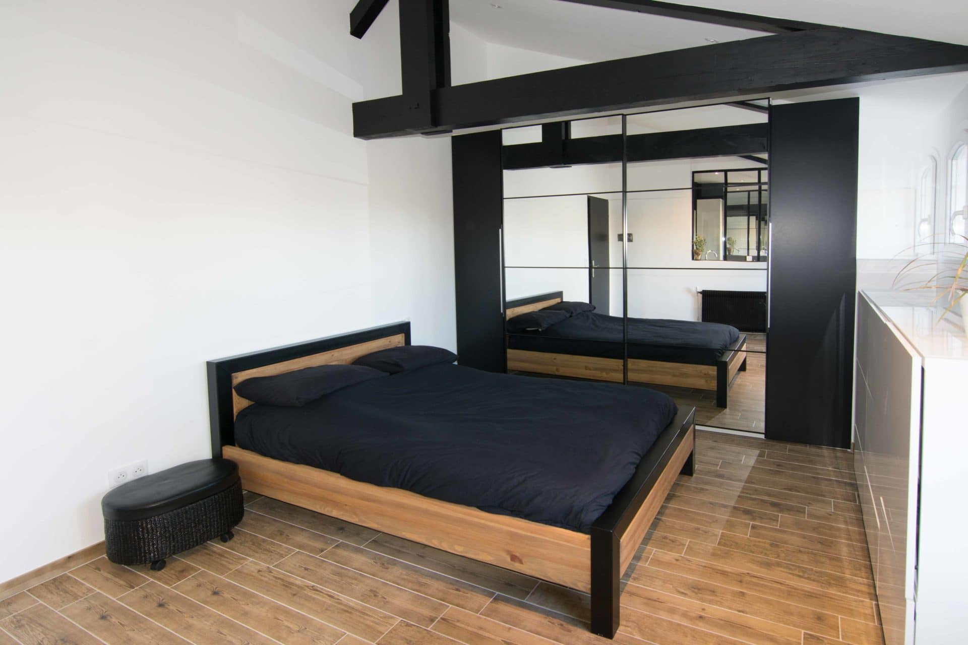 R novation et agrandissement de chambre illico travaux for Agrandissement chambre