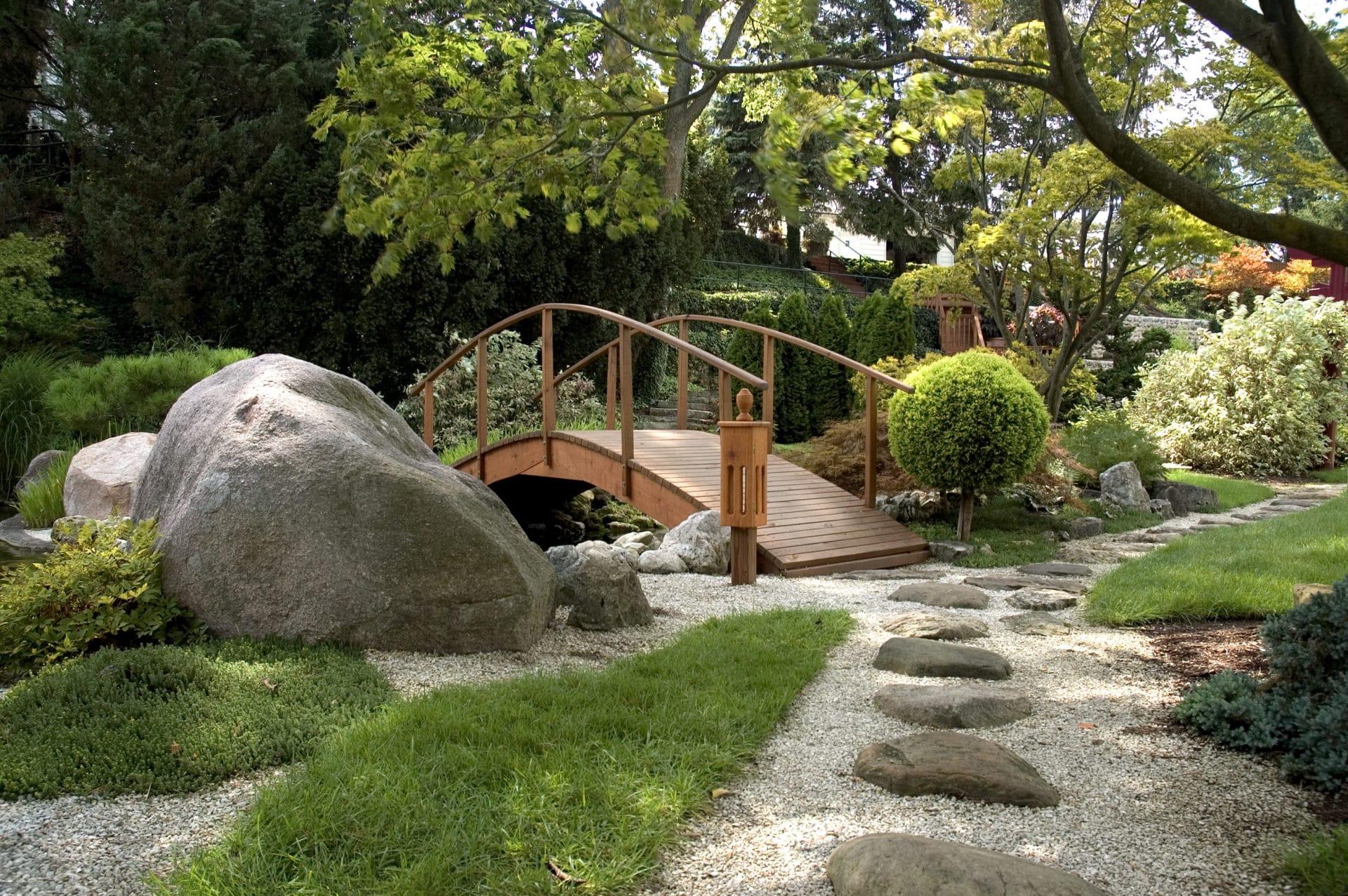 Jardin paysager et aménagement