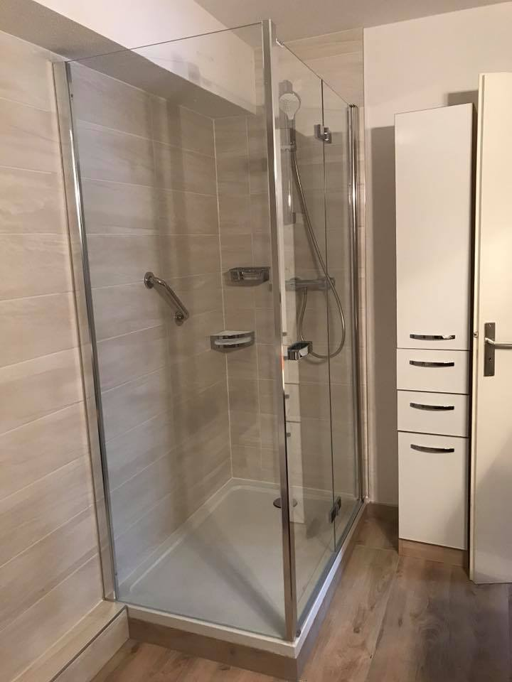 Rénovation d'une salle de bains – Schiltigheim (67)