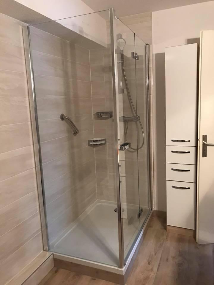 Rénovation d'une salle de bains à Schiltigheim (67)