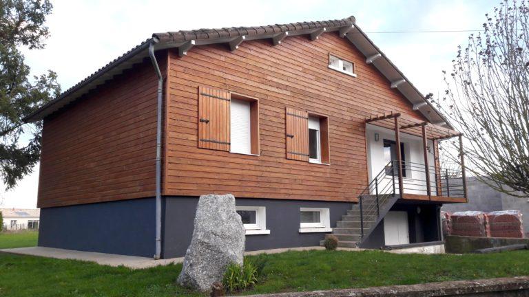 Aménagement extérieur d'une maison près de Niort (79)