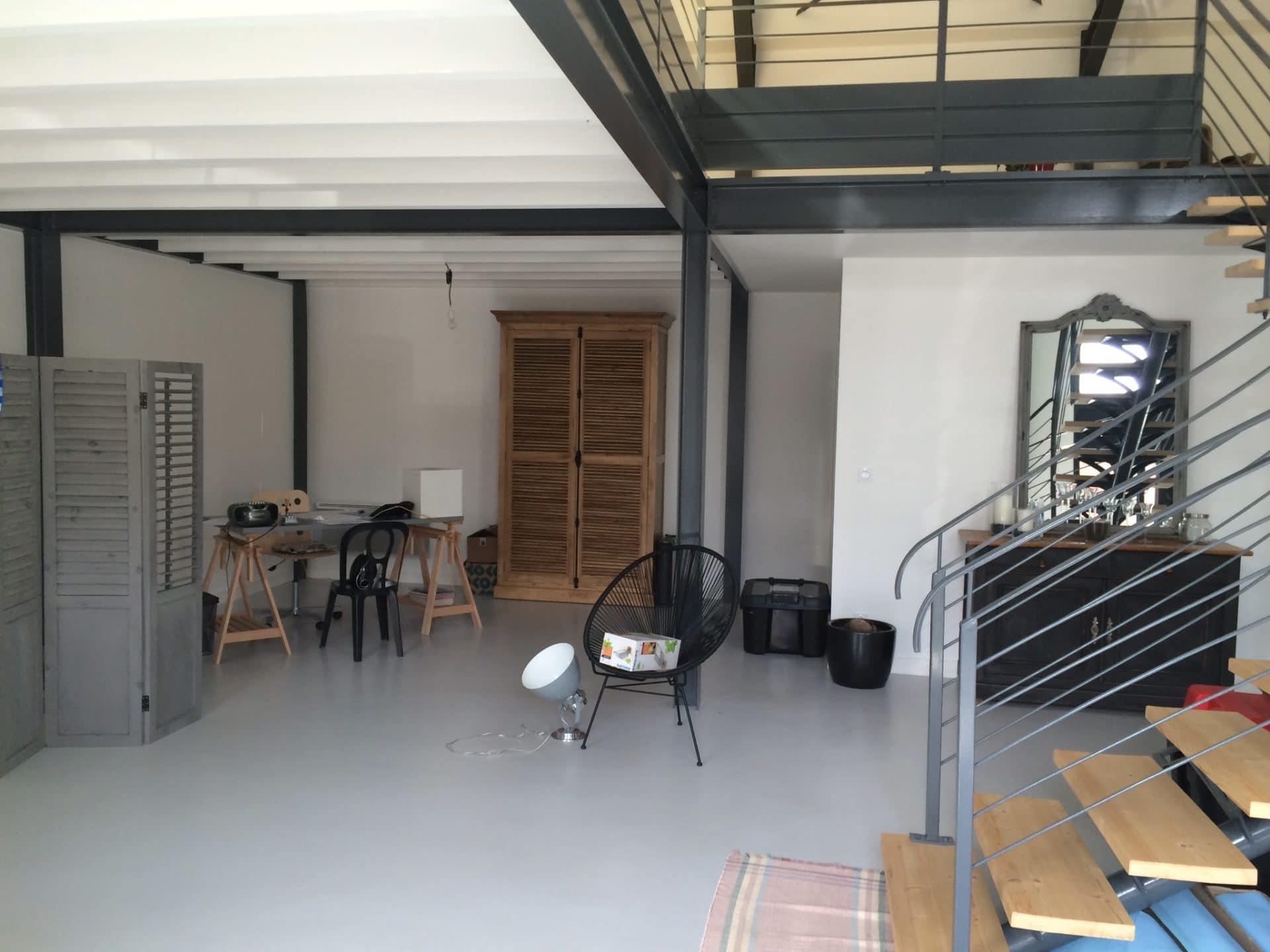 Rénovation complète d'un loft à Niort (79)