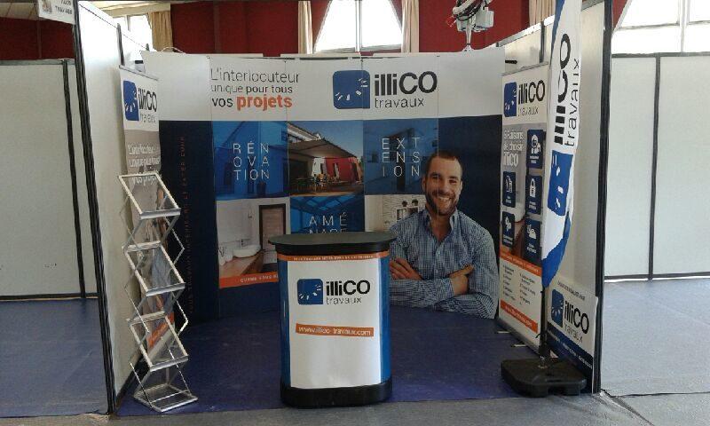 salon de l'Habitat de Vertou 2018 - illiCO travaux Nantes Sud