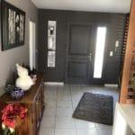 aménagement de l'entrée d'une maison à Angoulême