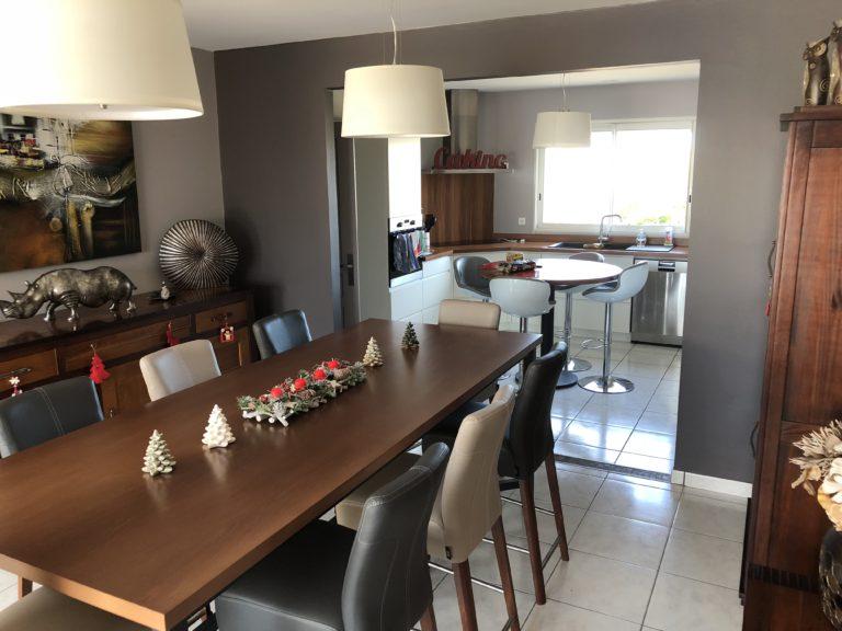 Rénovation intérieure de cuisine et salle à manger – Angoulême (16)