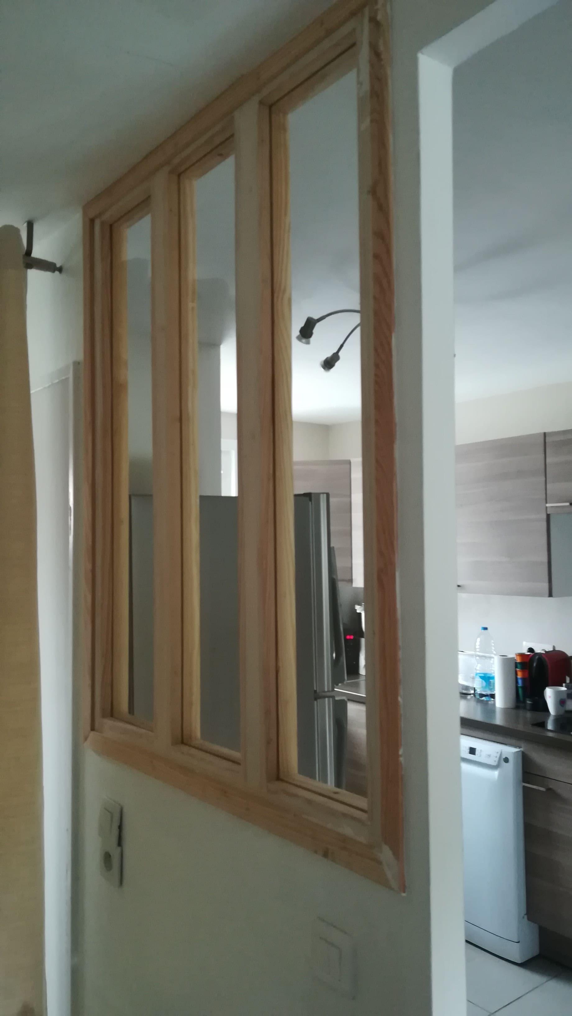 Création d'une verrière d'intérieur – Lille Nord-Ouest (59)